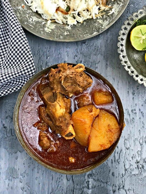 Railway Mutton Curry Recipe