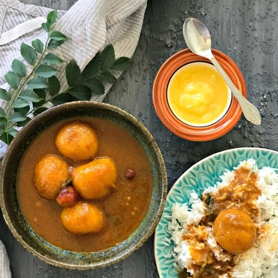 Spicy Mangalorean Ripe Mango Curry