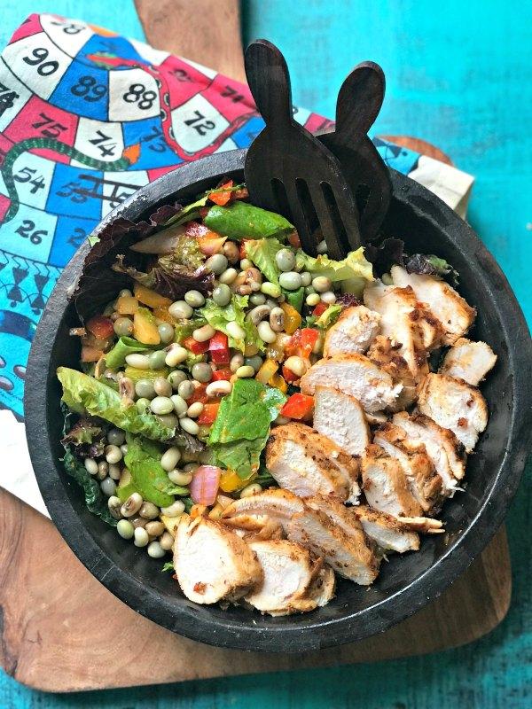 Lentil-and-Tandoori-Chicken-Salad