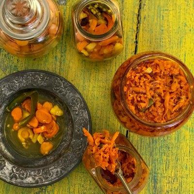 Fresh Turmeric Pickle – Kachi Haldi ka Achar