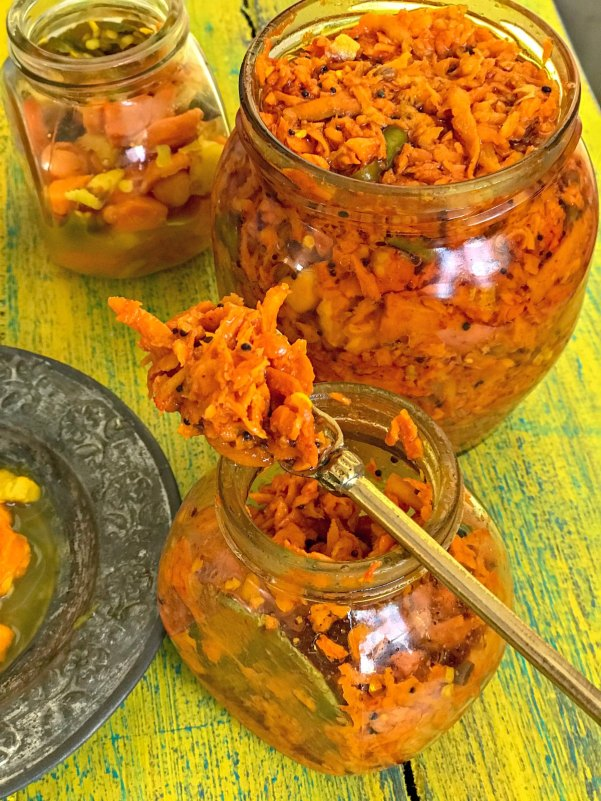 Turmeric Pickle