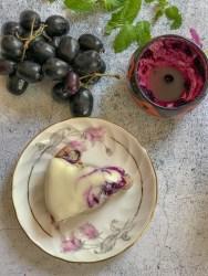 Almond Jamun Cake