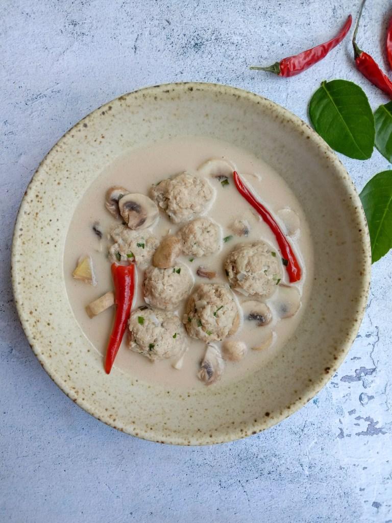 Lime Coconut Soup