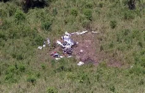 Avioneta ilegal cae repleta de dinero en Ecuador