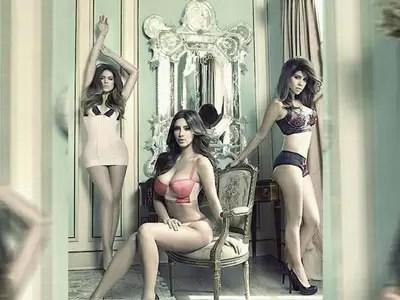 Video: Las hermanas Kardashian sexy en ropa interior