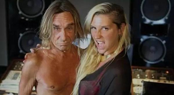 Nueva canción de Iggy Pop y Kesha juntos