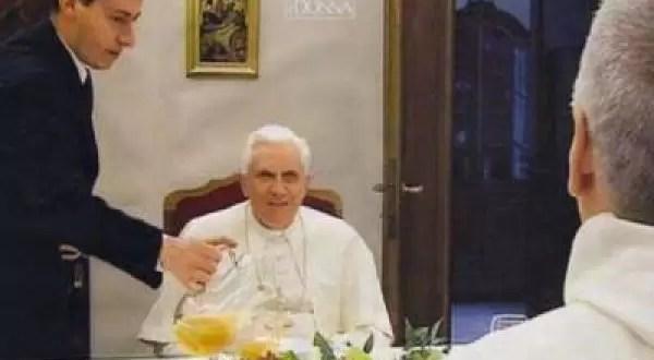 Arrestan al mayordomo del Papa Benedicto XVI por espía