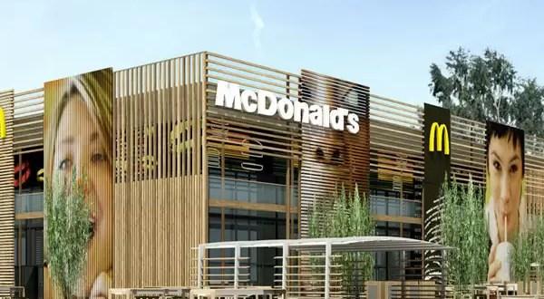 McDonald's construye en londres el local mas grande del mundo