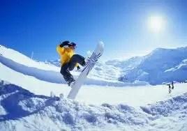 QUIENES PRACTICAN SNOWBOARD SUFREN MAS HERIDAS QUE LOS ESQUIADORES