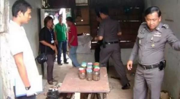 Encuentran a taiwanes seis bebés muertos dentro de su maleta