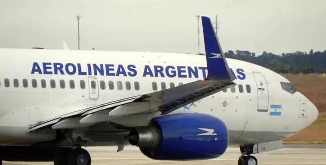 El nuevo avión de Aerolíneas Argentinas