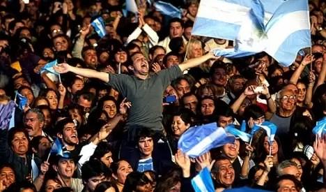 Argentina entre los países mas felices del mundo