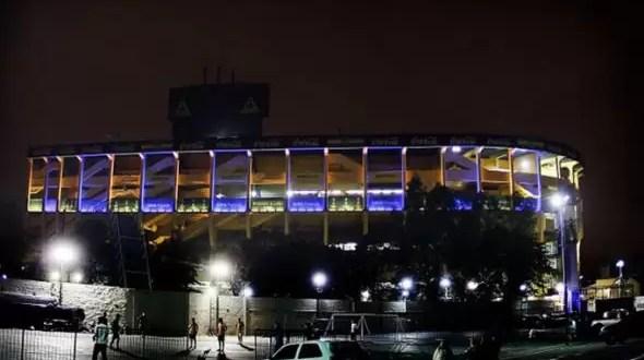 Iluminación 'a la europea' en La Bombonera