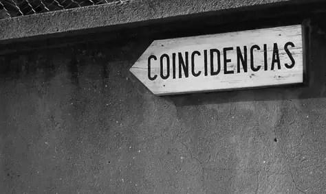 ¿Significan algo las coincidencias?