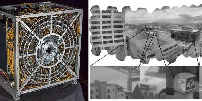Así es la primera cámara de fotos con gigapíxeles