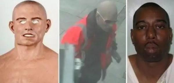 Ladrón negro se hacía pasar por blanco usando una máscara