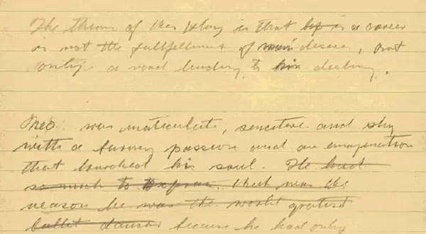 Encuentran manuscrito inédito de Charles Chaplin