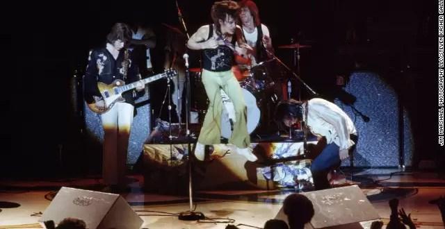 Fotos inéditas de los Rolling Stones