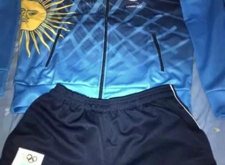 Uniformes oficiales de Argentina en Londres 2012
