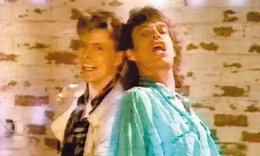 Romance oculto entre Mick Jagger y David Bowie