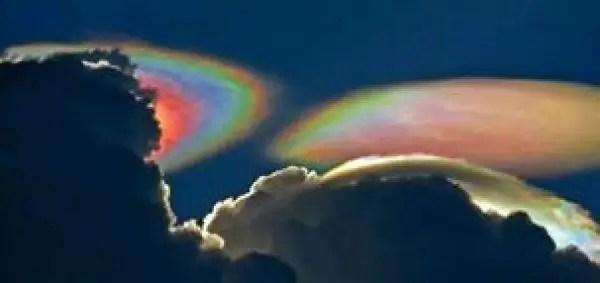 Foto: Asombroso arcoiris de fuego en Florida