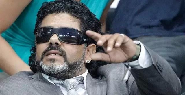 Maradona falso en el duelo Argentina-Alemania - Fotos