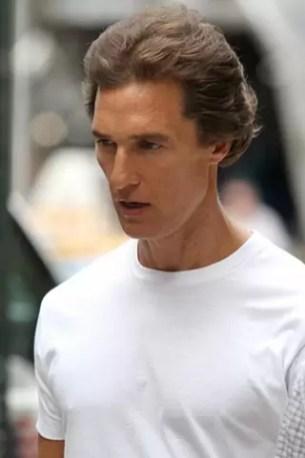 Fotos impactantes: Matthew McConaughey es puro huesos