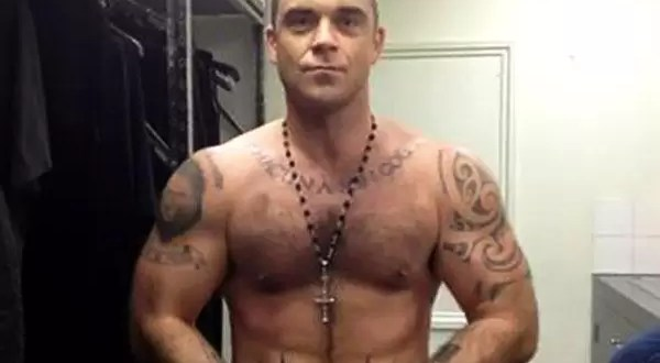 Foto: Mirá el nuevo cuerpo de Robbie Williams