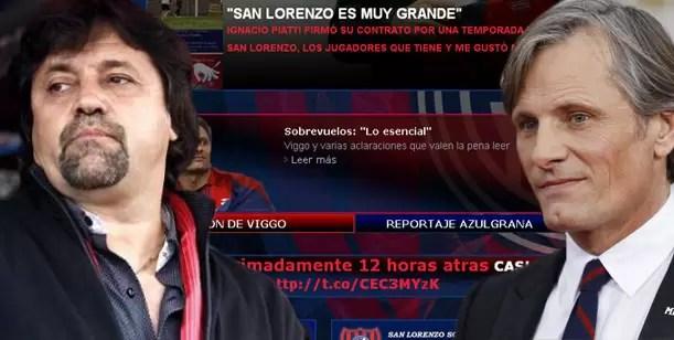 Viggo Mortensen destrozó a Caruso Lombardi