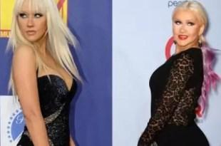 Christina Aguilera no puede bajar de peso