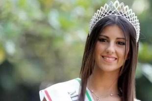Foto y Video: Una rosarina es elegida la más linda de Italia