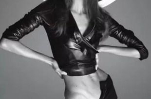 Fotos: Usan photoshop en una modelo para que parezca gordita