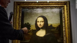Fotos: La Mona Lisa con rostro joven