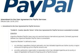 PayPal dejará de operar en Argentina - Enterate a partir de cuándo