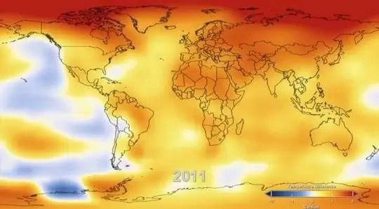 Video: Así se calienta el planeta