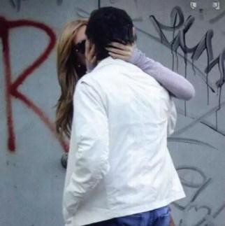 Los besos apasionados de Viviana Canosa y su novio - Fotos