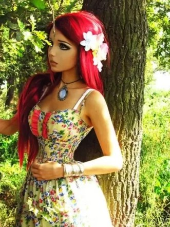 Fotos de la adolescente animé Anastasiya Shpagina