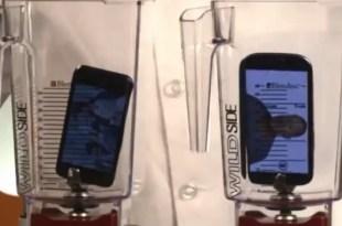 Video: Qué pasa si pones un iPhone 5 y Galaxy SIII a la licuadora