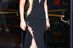 Foto: Lady Gaga sorprende con vestido retro