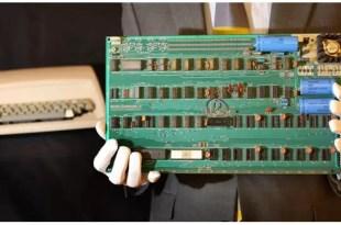 Fotos: Conoce la primera computadora de Apple que nadie quiso
