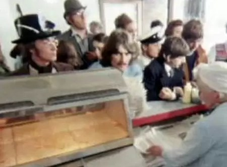 """Video inédito de The Beatles en """"Magical Mistery Tour"""""""