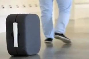 Crean valija inteligente que persigue a su dueño