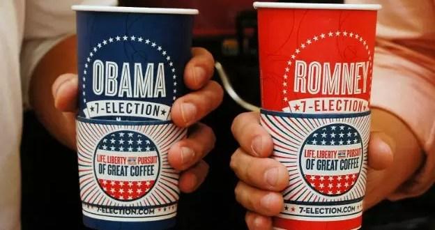 Vasos de café predicen ganador de las elecciones de EE.UU.