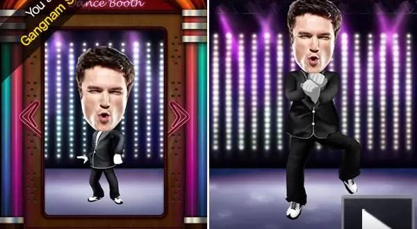 Video: Gangnam Dance Booth, la app para hacer el 'baile del caballo'