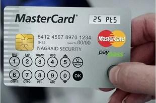 Nueva tarjeta de crédito y token en uno - Cómo funciona