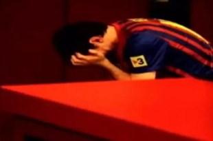 Fotos: El llanto de Lionel Messi en el Camp Nou