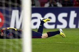 Parte médico oficial de Lionel Messi