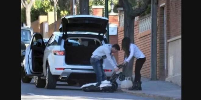 Fotos: Lionel Messi de paseo con su hijo Thiago y su mujer