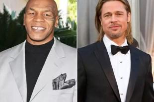 Mike Tyson encontró a su mujer en la cama con Brad Pitt