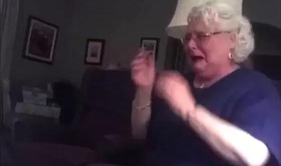 Video: La reacción al enterarse que será abuela